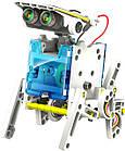 Робот конструктор Solar Robot 14 в 1 электрический робот на солнечной батарее, игрушка с моторчиком, фото 5