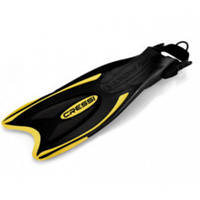 ДВ Cressi лас PALAU FINS BLACK/YELLOW (XS/S ) 35/38 (ласти) (CA115135) (код 125-373793)