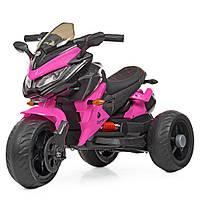 Детский электромобиль мотоцикл трицикл Bambi M 4274EL-8 BMW розовый