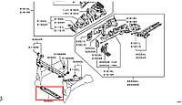Монтажная панель крепления фар 5256B516. MITSUBISHI