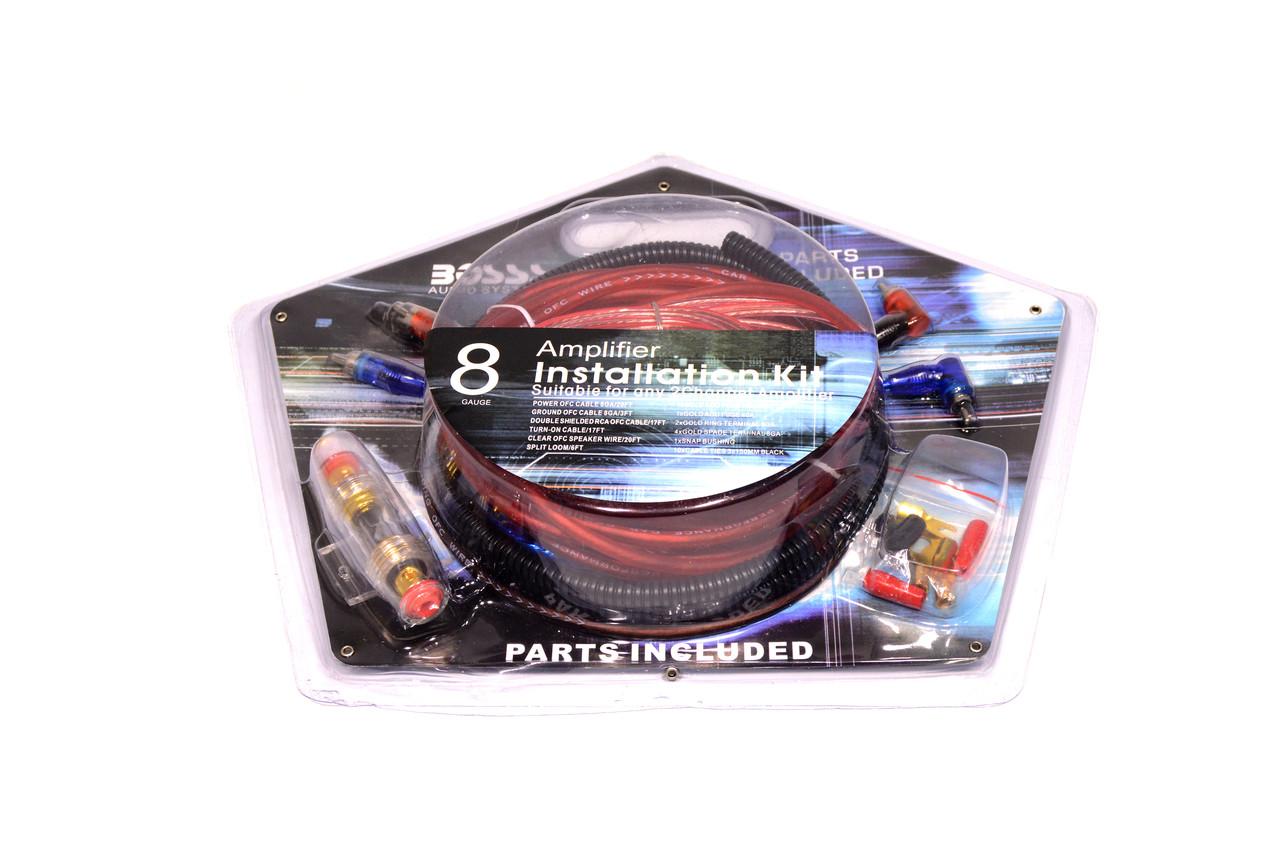 Набор проводов для усилителя / сабвуфера BA-208