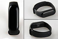 Фітнес трекер M 3 смарт браслет чорний (Black) браслет спортивний чорний зі шнуром! Акція