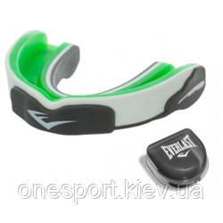 Капа EVERLAST Evergel™ Mouthguard зелёный/серый (код 179-375237)