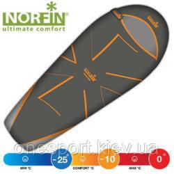 Мішок-кокон спальн. Norfin NORDIC 500 -10°- (-25°) / 230х55(85)см / NS L + сертификат на 200 грн в подарок
