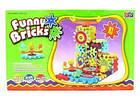 Детский развивающий конструктор Funny Bricks, конструктор для развития, интерактивная игрушка, Фани брикс, фото 7