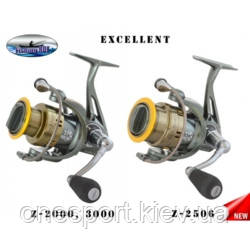 Котушка Fishing ROI Excellent-Z 2506 8+1п + сертифікат на 100 грн в подарунок (код 165-152036)