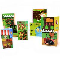 Развивающие игрушки CLASSIC WORLD кубики-трансформеры «Овощи» (20028), фото 7