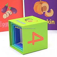 Развивающие игрушки CLASSIC WORLD кубики-трансформеры «Овощи» (20028), фото 9