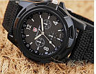 Армейские часы Swiss Army, мужские часы, часы military, военные часы, фото 7