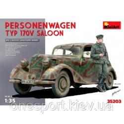 Немецкий автомобиль Personenwagen Typ 170V Saloon (код 200-379507)