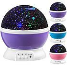 Круглый вращающийся ночник-проектор звездное небо 3D Star Master Dream, ночник стар мастер, ночник шар, фото 6