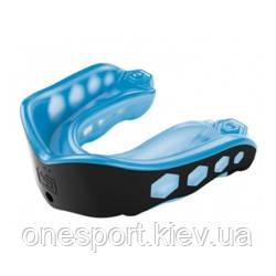 Капа подростковая гелевая SHOCK DOCTOR Gel Max подростковый синий/чёрный (код 179-531760)