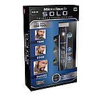 Триммер для волос MICRO TOUCH Solo аккумуляторный Для брутальных мужчин с БОРОДОЙ, триммер для бороды, фото 4