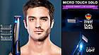 Триммер для волос MICRO TOUCH Solo аккумуляторный Для брутальных мужчин с БОРОДОЙ, триммер для бороды, фото 5