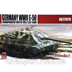 Немецкий тяжелый танк E-50 Stug из 105 мм пушкой L62 + сертификат на 50 грн в подарок (код 200-379567)