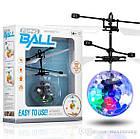 Летающая игрушка Flying Ball, шар вертолет, летающая игрушка, сенсорный летающий шар, светящийся шар, фото 9