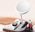 Косметическое зеркало со светодиодной подсветкой My FoldAway Mirror, Led зеркало зеркало для макияжа, фото 7