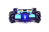 Машинка на радиоуправлении Drifter Turbo Air-Released с подсветкой и музыкой синяя, фото 7