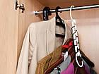 Вешалка-органайзер для одежды Wonder Hanger ( Чудо-вешалка ), цвет белый, фото 4