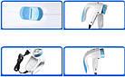 Машинка для удаления-снятия катышек Lint Remover 5880 от сети 220В + запасное лезвие, цвет белый, фото 7