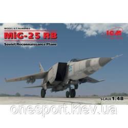 Советский самолет-разведчик МиГ-25 РБ + сертификат на 50 грн в подарок (код 200-475526), фото 2