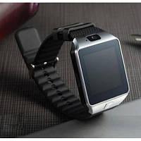 Умные смарт часы Smart Watch DZ09 мужские часы серебряные! Акция