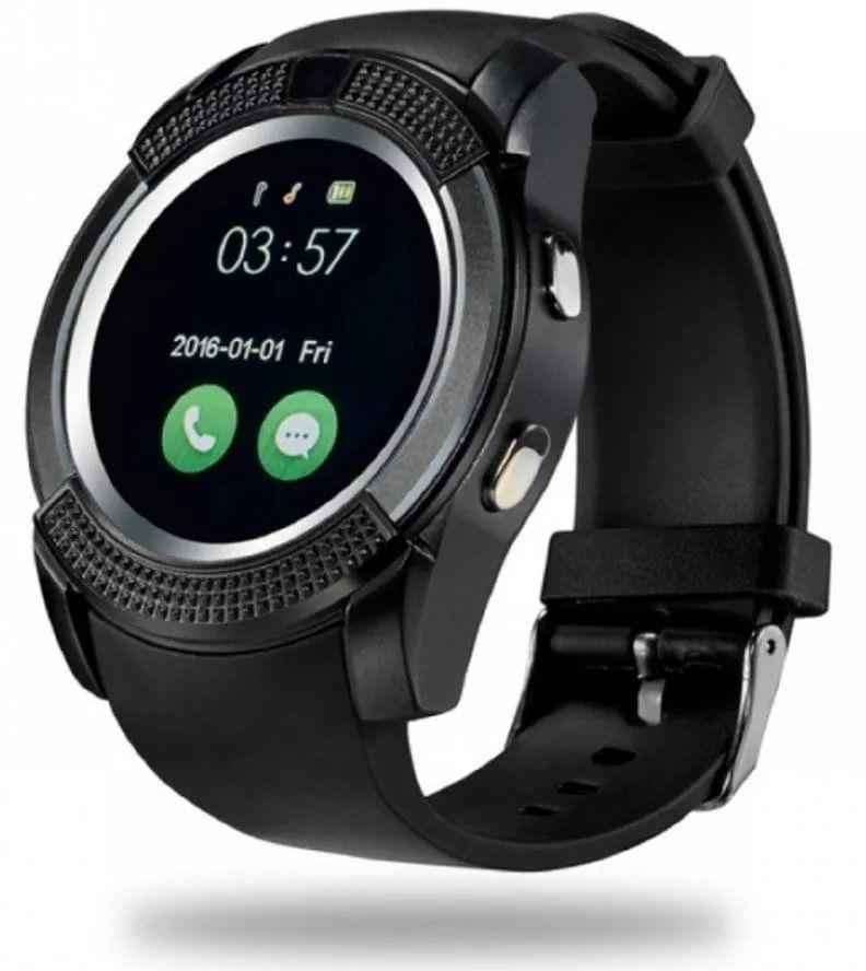 Смарт-часы Smart Watch V8 цвет черный