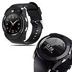 Смарт-часы Smart Watch V8 цвет черный , фото 4