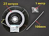 Анизотропная пленка HITACHI AC-7206U-18 2мм х10см токопроводящая Z-axis токопроводящий скотч, фото 5