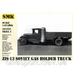 Cоветский газогенераторный автомобиль ЗИС-13 (код 200-297690), фото 2