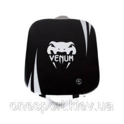 Макивара VENUM Absolute Square Kick Shield чёрный/белый + сертификат на 200 грн в подарок (код 179-536069)