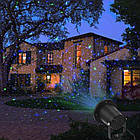 Мощный Лазерный проектор STAR SHOWER Laser Light, праздничное освещение, гирлянда на дом 3mW, фото 5