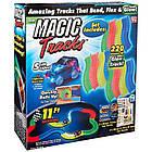 Светящийся конструктор Magic Tracks 220 деталей, гибкая гоночная трасса конструктор, фото 4