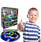 Светящийся конструктор Magic Tracks 220 деталей, гибкая гоночная трасса конструктор, фото 7