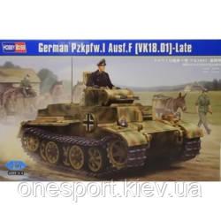 Танк German Pzkpfw.I Ausf.J (VK1801), поздний (код 200-297801)