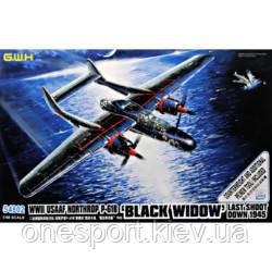 Истребитель Нортроп P-61 Блэк Уидоу + сертификат на 150 грн в подарок (код 200-585648)