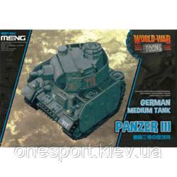 Немецкий средний танк Panzer III (World War Toons series) (код 200-585662), фото 2