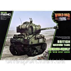 Британский средний танк Sherman Firefly (World War Toons series) (код 200-585665), фото 2