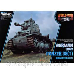 Німецький світло танк Panzer 38 (t) (World War Toons series) (код 200-585668), фото 2