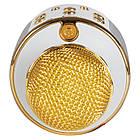 Караоке микрофон Bluetooth беспроводной  858 WS с изменением голоса все цвета, фото 8