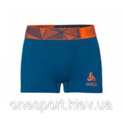 ODLO 160022 8 термотруси Boxer Ceramicool seamless 20358 blue opal-orangeade S (код 125-486839)