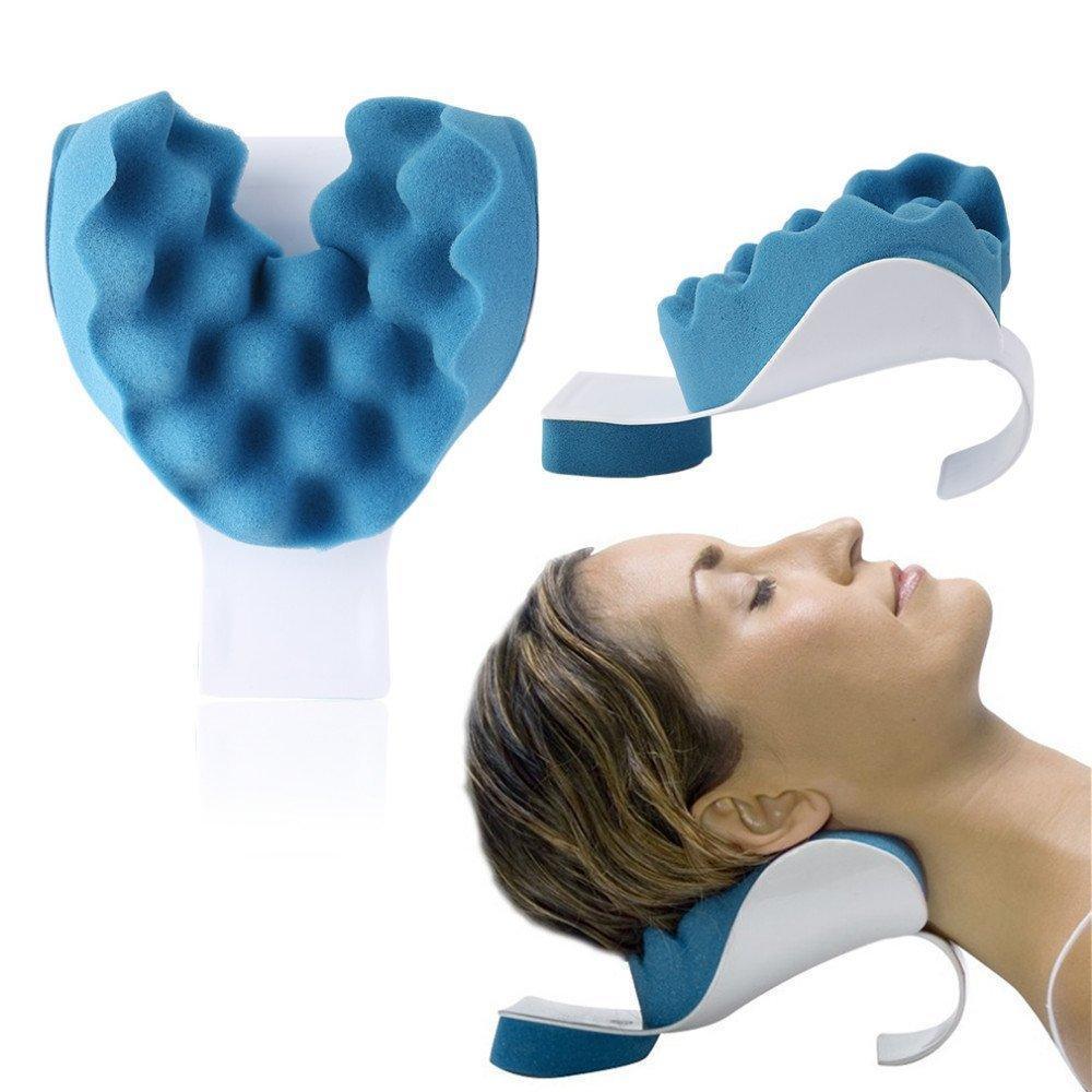 Релаксатор шеи и плеч NECKZEN, массажер для релаксации, подушка для шеи