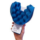 Релаксатор шеи и плеч NECKZEN, массажер для релаксации, подушка для шеи, фото 5
