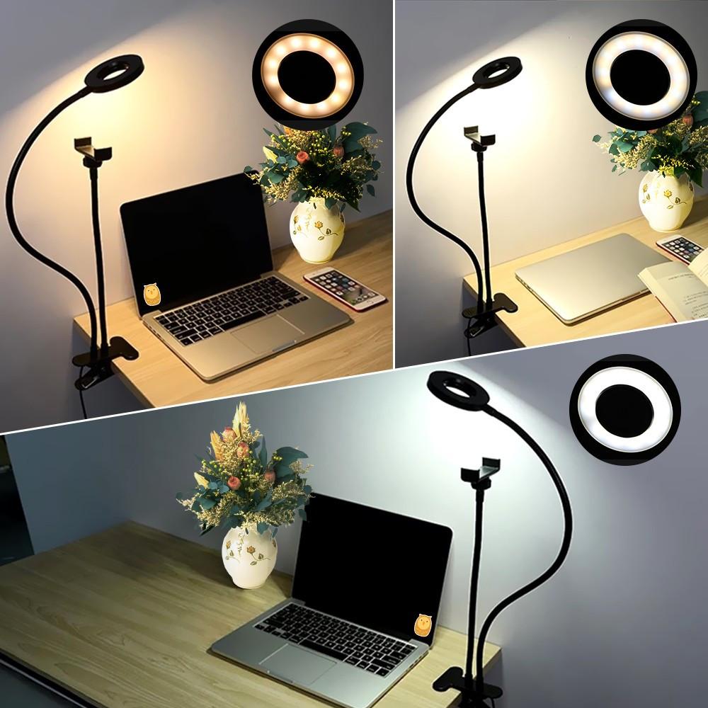 Подсветка для стриминга +гибкий держатель для смартфона Live Stream, кольцо для селфи, освещение для стриминга