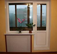 Балконные двери из ПВХ