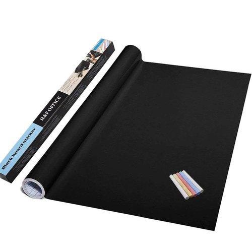 Самоклеющаяся пленка для рисования мелом Black Board Sticker, доска для рисования мольберт для рисования мелом