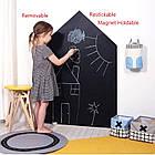 Самоклеющаяся пленка для рисования мелом Black Board Sticker, доска для рисования мольберт для рисования мелом, фото 2