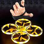 Квадрокоптер с ручным управлением DRON 918, квадракоптер сенсорный, дрон с ручным управлением, фото 2