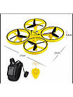 Квадрокоптер с ручным управлением DRON 918, квадракоптер сенсорный, дрон с ручным управлением, фото 6