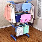 Вертикальная сушилка для белья до 50 кг «ТАК УДОБНО», сушка для белья, вешалка для белья, фото 2